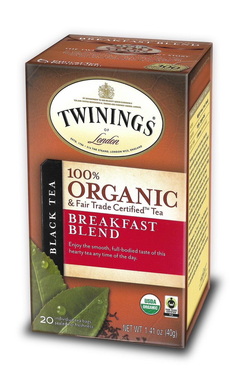 100% Organics Breakfast blend