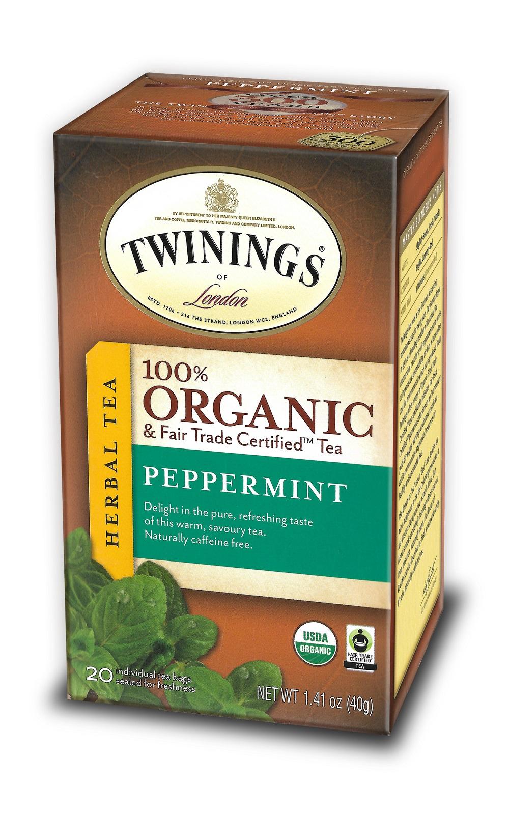 100% organic Peppermint