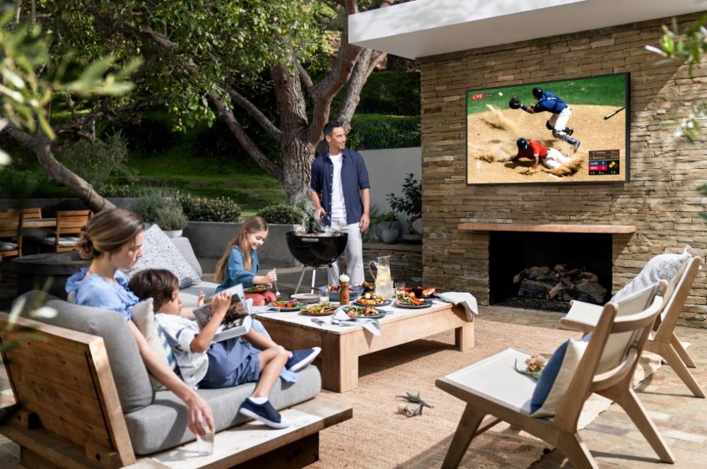 El nuevo televisor Samsung de la familia Lifestyle TV está protegido contra el polvo, humedad, calor y el agua.Revista PM